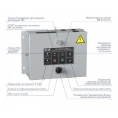 Выключатель вакуумный Optimat ВВ-10-20/1000-У2-530 с блоком управления Optimat BU-11-У2; 273213