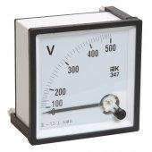 IPV10-6-0600-E; Вольтметр Э47 600В класс точности 1.5 72х72мм
