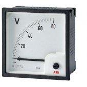 Вольтметр переменного тока трансформаторного включения VLM1-TV-380-100/500/72; 2CSG122200R4001