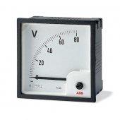 Вольтметр переменного тока шкала 0-500В VLM 1/500V; 2CSM110220R1001