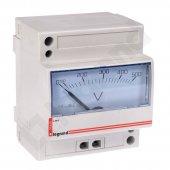 Вольтметр аналоговый 0-500В(4 М); 004660