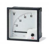Вольтметр переменного тока прямого включения VLM-1-250/72; 2CSG112180R4001