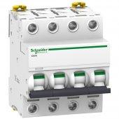 Acti 9 iC60N Автоматический выключатель 4P 25A (C); A9F79425