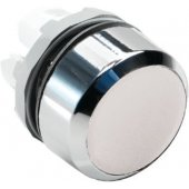 Кнопка MP1-20W белая без подсветки без фиксации низкая; 1SFA611100R2005