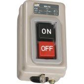 KVK30-16-3; Выключатель кнопочный с механической блокировкой ВКИ-230 3P 16А 230/400В IP40