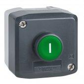 Пост кнопочный зеленый 1НО (I); XALD102