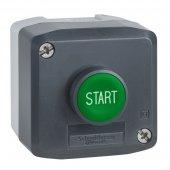 Пост кнопочный 1 кнопка с возвратом; XALD103
