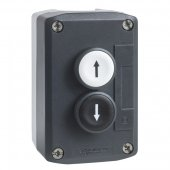 Пост кнопочный 2 кнопки с возвратом; XALD222