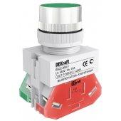 25013DEK; Выключатель кнопочный ВK-22 зеленый ABLF D=22мм 220В