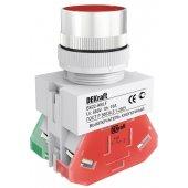 Выключатель кнопочный ВK-22 красный ABLF D=22мм 220В; 25014DEK