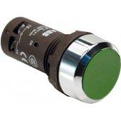 Кнопка CP1-30G-11 зеленая без фиксации 1НО+1HЗ; 1SFA619100R3072