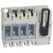 026672; Выключатель-разъединитель DPX-IS630 с дистанционным отключением 400А 3P рукоятка спереди