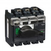 31160; Interpact INS/INV Выключатель-разъединитель 3P 100А рукоятка спереди