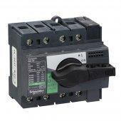28901; Interpact INS/INV Выключатель-разъединитель 4P 40А рукоятка спереди