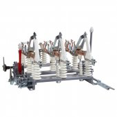 Выключатель нагрузки высоковольтный ВНА-10/630-П-IIIз-И2-УХЛ2 3P; 248211