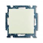 Basic 55 Механизм одноклавишного выключателя НОК с N-клеммой chalet-white; 1413-0-1099 (2026 UC-96)