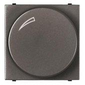 Zenit Механизм электронного поворотного светорегулятора антрацит в рамку; N2260.2 AN