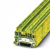 3031513; Заземляющий клеммный модуль с пружинными зажимами ST 1.5-PE