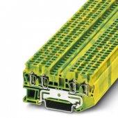 3031322; Клемма защитного провода ST 2.5-QUATTRO-PE