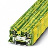 3031380; Заземляющий клеммный модуль с пружинными зажимами ST 4-PE
