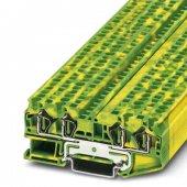 3031461; Клемма защитного провода ST 4-QUATTRO-PE