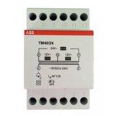 Трансформатор модульный звонковый 220/24(12+12) 40VA (TM 40/24); 2CSM228785R0802