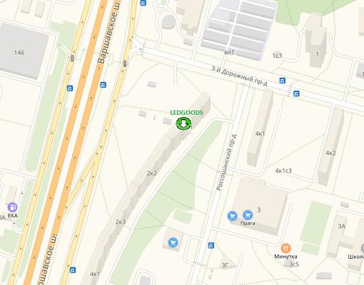 Ледгудс адрес в Москве
