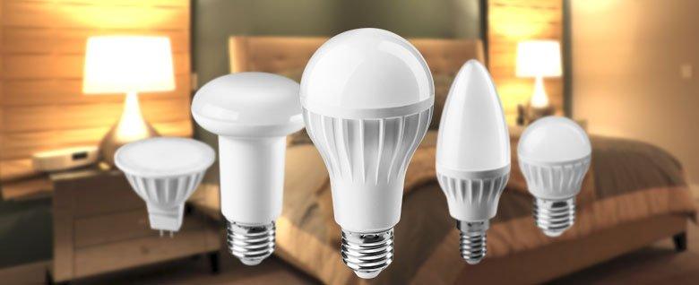 Светодиодные лампы E27, E14, GU5.3 для дома